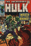 Cover for The Incredible Hulk (Marvel, 1968 series) #124 [British Price Variant]