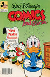 Cover for Walt Disney's Comics and Stories (Disney, 1990 series) #569 [Newsstand]