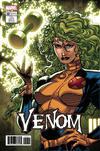 Cover for Venom (Marvel, 2017 series) #152 [Incentive Jim Lee 'X-Men Trading Card' Variant (Polaris)]