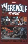 Cover for Werewolf by Night Complete Collection (Marvel, 2017 series) #1
