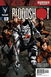 Cover for Bloodshot (Valiant Entertainment, 2012 series) #13 [Cover B - Patrick Zircher]
