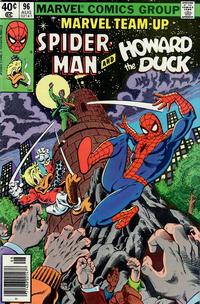 Cover Thumbnail for Marvel Team-Up (Marvel, 1972 series) #96 [Newsstand]