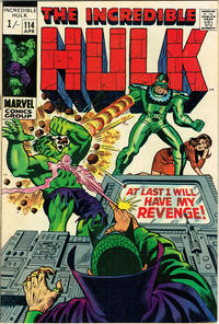 Cover Thumbnail for The Incredible Hulk (Marvel, 1968 series) #114 [British]