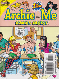 Cover Thumbnail for Archie and Me Comics Digest (Archie, 2017 series) #1