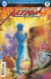 Cover Thumbnail for Action Comics (DC, 2011 series) #988 [Lenticular Cover]