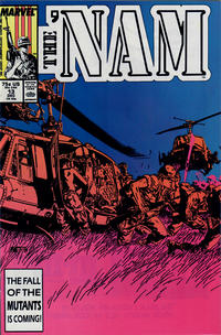 Cover Thumbnail for The 'Nam (Marvel, 1986 series) #13 [Direct]