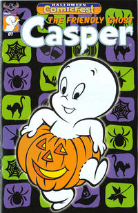 Cover Thumbnail for Casper the Friendly Ghost: Halloween Comicfest (American Mythology Productions, 2017 series) #1