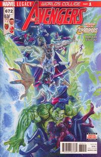Cover Thumbnail for Avengers (Marvel, 2017 series) #672