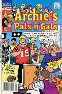 Cover Thumbnail for Archie's Pals 'n' Gals (Archie, 1952 series) #220 [Newsstand]
