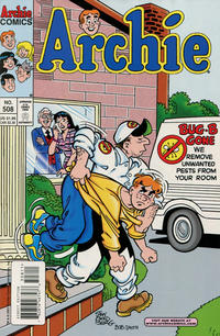 Cover Thumbnail for Archie (Archie, 1959 series) #508 [Direct]