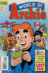 Cover Thumbnail for World of Archie (Archie, 1992 series) #16 [Direct Edition]