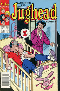 Cover Thumbnail for Archie's Pal Jughead Comics (Archie, 1993 series) #51 [Newsstand]