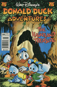 Cover Thumbnail for Walt Disney's Donald Duck Adventures (Gladstone, 1993 series) #38 [Newsstand]