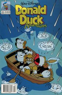 Cover Thumbnail for Walt Disney's Donald Duck Adventures (Disney, 1990 series) #31 [Newsstand]