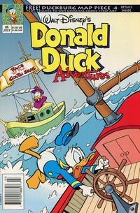 Cover Thumbnail for Walt Disney's Donald Duck Adventures (Disney, 1990 series) #26 [Newsstand]