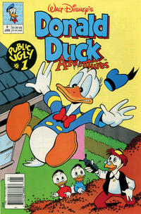 Cover Thumbnail for Walt Disney's Donald Duck Adventures (Disney, 1990 series) #8 [Newsstand]