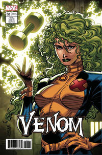 Cover Thumbnail for Venom (Marvel, 2017 series) #152 [Incentive Jim Lee 'X-Men Trading Card' Variant (Polaris)]