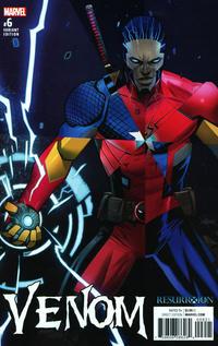 Cover Thumbnail for Venom (Marvel, 2017 series) #6 [Incentive Dan Mora 'Resurrxion' Variant]