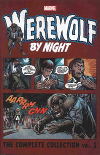Cover Thumbnail for Werewolf by Night Complete Collection (Marvel, 2017 series) #1