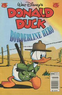 Cover Thumbnail for Donald Duck (Gladstone, 1986 series) #296 [Newsstand]