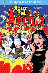 Cover Thumbnail for Your Pal Archie (Archie, 2017 series) #2 [Cover A Dan Parent]