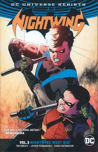 Cover Thumbnail for Nightwing (DC, 2017 series) #3 - Nightwing Must Die