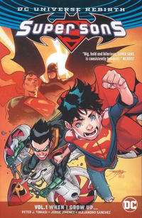 Cover Thumbnail for Super Sons (DC, 2017 series) #1 - When I Grow Up
