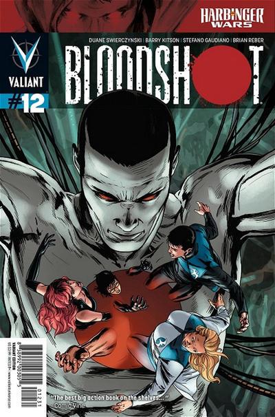 Cover for Bloodshot (Valiant Entertainment, 2012 series) #12 [Cover B - Matthew Waite]