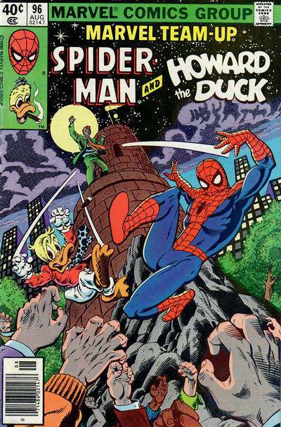 Cover for Marvel Team-Up (Marvel, 1972 series) #96 [Direct Edition]