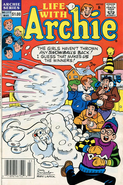Cover for Life with Archie (Archie, 1958 series) #277 [Newsstand]