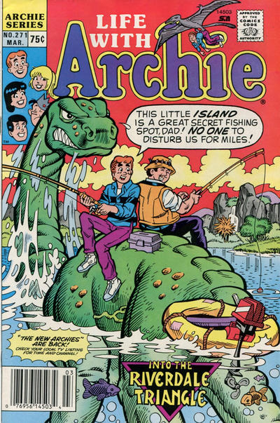 Cover for Life with Archie (Archie, 1958 series) #271 [Direct]