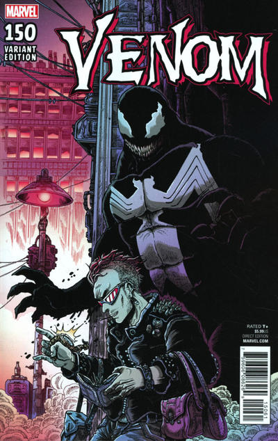 Cover for Venom (Marvel, 2017 series) #150 [ComicXposure Exclusive - Mike Perkins Virgin Art]