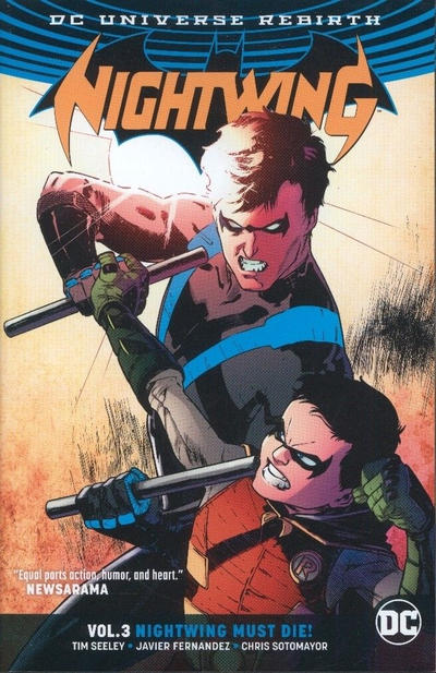 Cover for Nightwing (DC, 2017 series) #3 - Nightwing Must Die