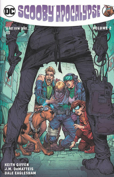 Cover for Scooby Apocalypse (DC, 2017 series) #2