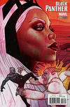 Cover for Black Panther (Marvel, 2016 series) #17 [Jenny Frison Connecting Cover]