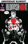 Cover for Bloodshot (Valiant Entertainment, 2014 series) #25 [Cover C - Rafael Albuquerque]
