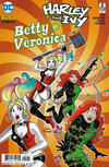Cover for Harley & Ivy Meet Betty & Veronica (DC, 2017 series) #2 [Dan Parent Cover]