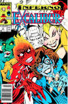 Cover for Excalibur (Marvel, 1988 series) #6 [Newsstand Edition]