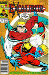 Cover for Excalibur (Marvel, 1988 series) #10 [Newsstand]