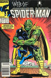 Cover Thumbnail for Web of Spider-Man (1985 series) #25 [Newsstand]