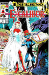 Cover for Excalibur (Marvel, 1988 series) #7 [Newsstand Edition]