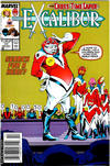 Cover for Excalibur (Marvel, 1988 series) #17 [Newsstand]