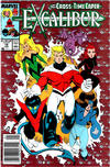 Cover for Excalibur (Marvel, 1988 series) #18 [Newsstand]