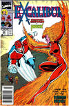 Cover for Excalibur (Marvel, 1988 series) #20 [Newsstand]