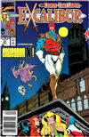 Cover for Excalibur (Marvel, 1988 series) #21 [Newsstand Edition]