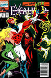Cover Thumbnail for Excalibur (1988 series) #33 [Newsstand]