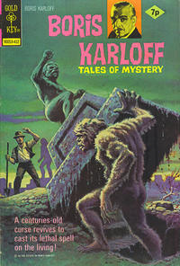 Cover Thumbnail for Boris Karloff Tales of Mystery (Western, 1963 series) #58 [British]