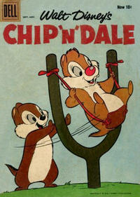 Cover Thumbnail for Walt Disney's Chip 'n' Dale (Dell, 1955 series) #15 [Now 10¢ Variant]