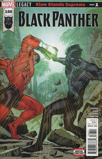 Cover Thumbnail for Black Panther (Marvel, 2016 series) #166