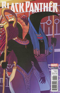 Cover Thumbnail for Black Panther (Marvel, 2016 series) #16 [Jamie McKelvie Connecting Cover]
